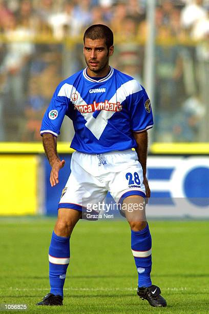 Guardiola of Brescia in action during the Serie A 7th Round League match between Brescia and Chievo, played at the M. Rigamonti Stadium, Brescia...