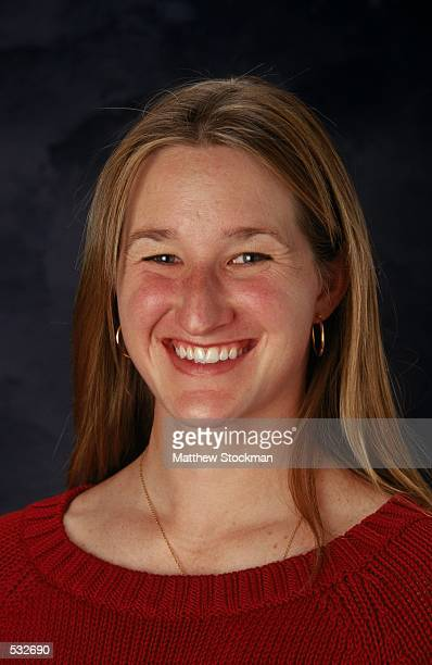 Jennifer Rodriguez of the USA Olympic Speedskating Team poses for a head shot during the United States Olympic Committee Summit in Salt Lake City...
