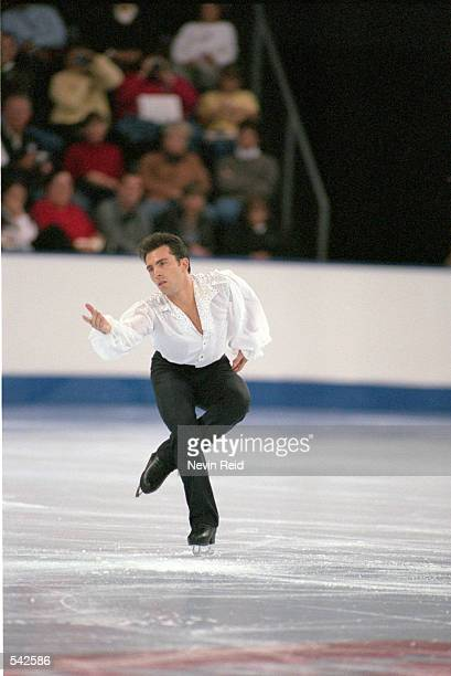 Michael Weiss of the USA performs his routine during the Smart Ones Skate America at the World Arena in Colorado Springs ColoradoMandatory Credit...
