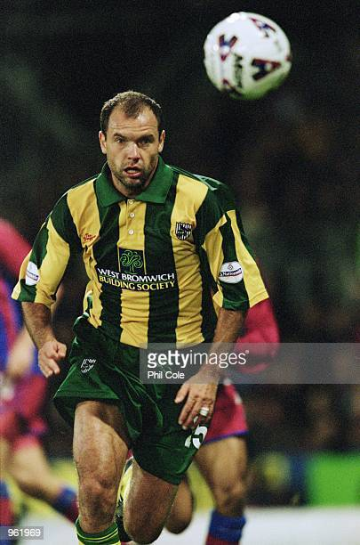 Onloan striker Uwe Rosler of West Brom in action during the Nationwide Division One match between Crystal Palace and West Bromwich Albion played at...