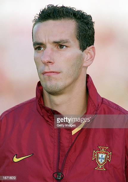 Portrait of Armando Petit of Portugal before the FIFA 2002 World Cup Qualifier between Portugal and Estonia played at the Jose Alvalade in Lisbon...