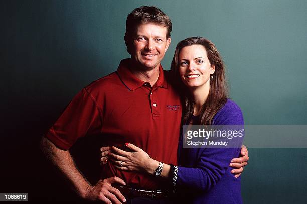 Retief and Tracy Goosen of South Africa Mandatory Credit Stephen Munday /Allsport