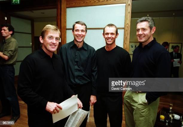 Scottish legends past and present former football legends Kenny Dalglish Alan Hansen golfer Andrew Coltart and former rugby star Gavin Hastings...