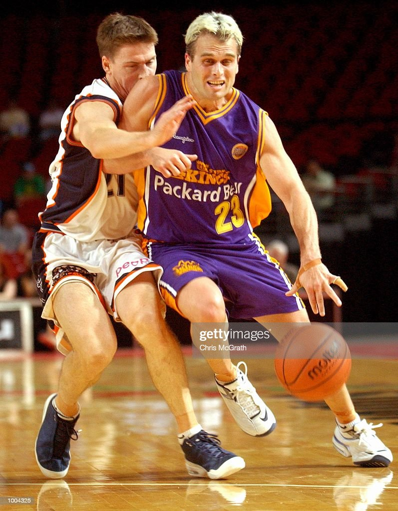 Shane Heal #23 of the Kings in action during the NBL match between the Sydney Kings and the Cairns Taipans held at the Sydney Superdome, Sydney, Australia. DIGITAL IMAGE Mandatory Credit: Chris McGrath/ALLSPORT