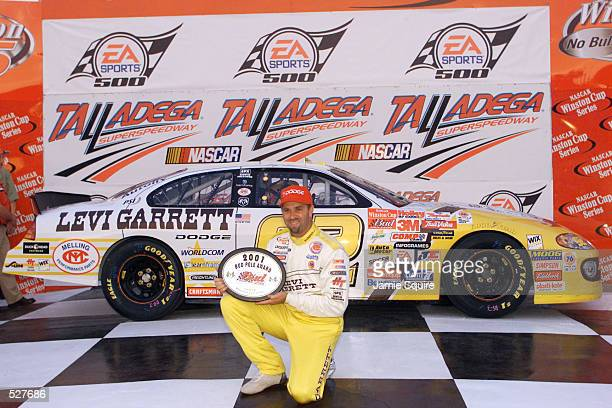 Stacy Compton driver of the Mark Melling Racing Dodge Intrepid R/T wins the pole for Sunday's EA Sports 500 at Talladega Superspeedway in Talladega...