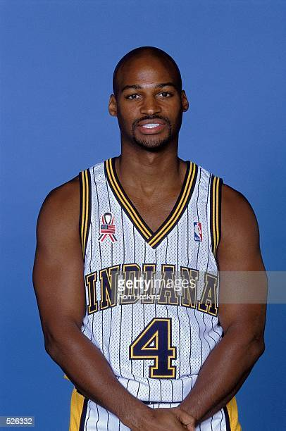 Travis Best of the Indiana Pacers poses for a studio portrait on Media Day in Indianapolis Indiana NOTE TO USER It is expressly understood that the...