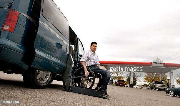 03 Oct 2010 Wheelchair bound Mark Woitzik can't find any gas stations in Whitby where they will pump gas for the disabled lawyer Everything is being...