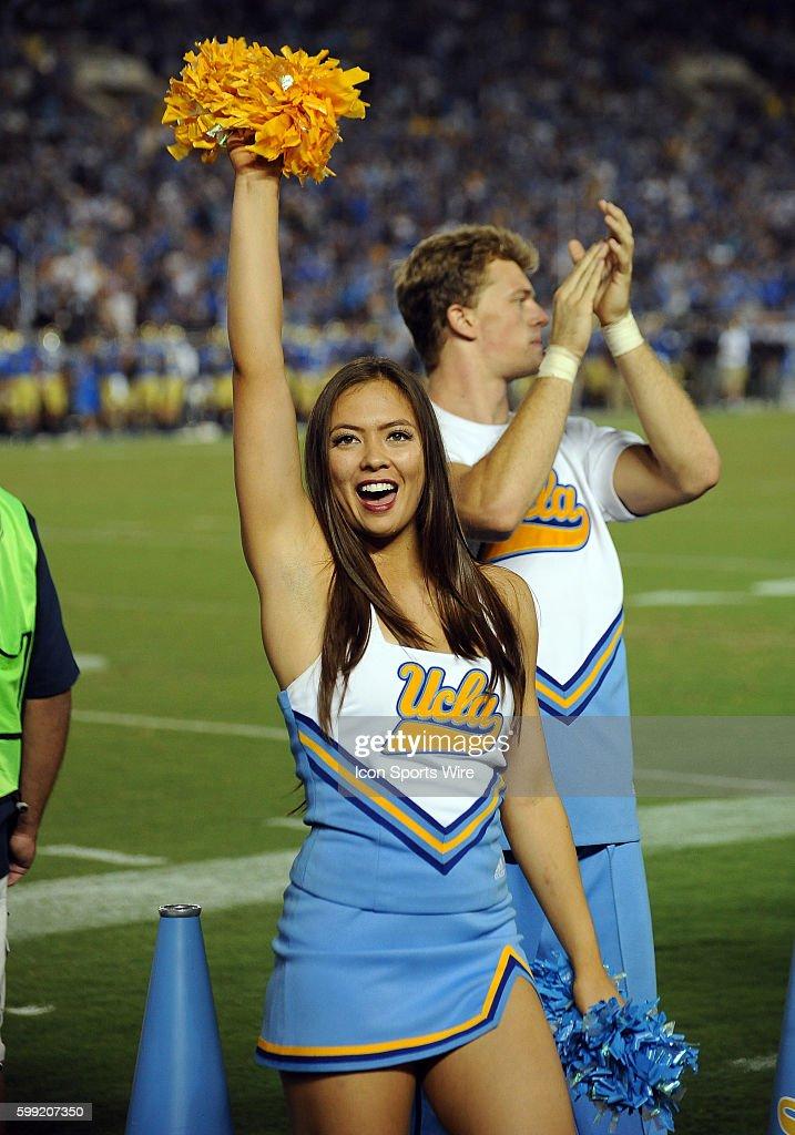 NCAA FOOTBALL: OCT 03 Arizona State at UCLA : News Photo