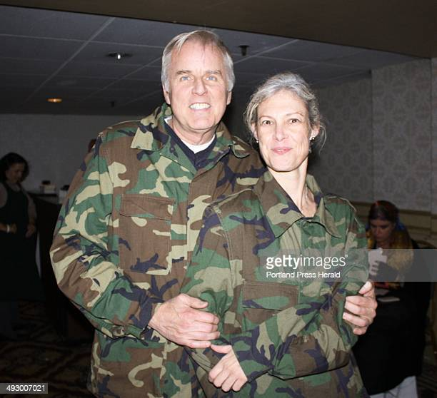 Kevin Regan and Kelly Donahue dressed as Marines staff photo