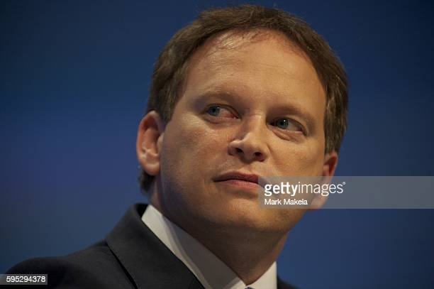Oct 3 2011 Manchester England UK MP GRANT SHAPPS and Secretary of State for Communities and Local Government ERIC PICKLES take part in a panel...