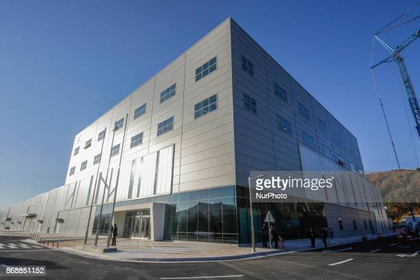 Oct 30 2017Pyeongchang South KoreaA general view of the IBC International Broadcasting and all media venue for the PyeongChang 2018 Winter Olympic...