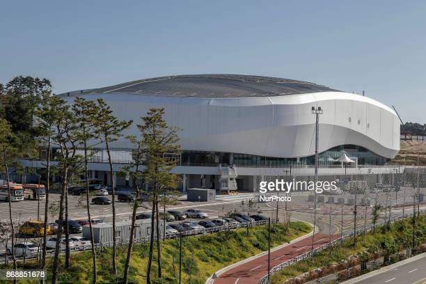 Oct 30 2017Pyeongchang South KoreaA Shows Gangneung Ice Arena in Gangneung South Korea The facility will be used for figure skating and short track...