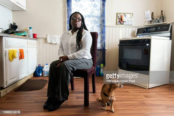 Deatre McNeal at her home in Milwaukee Wis Wednesday Oct 31 2018 She will need to start meeting work requirements for food share next month when her...
