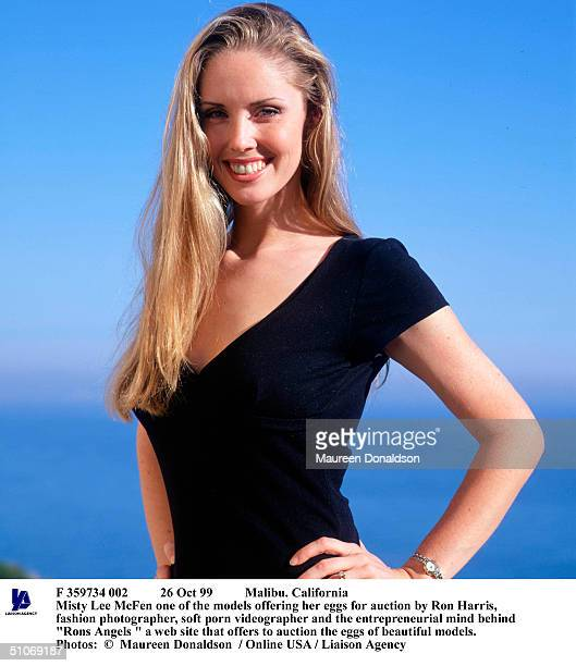 Oct 99 Malibu California Misty Lee Mcfen One Of The Models Offering Her Eggs For Auction By Ron Harris Fashion