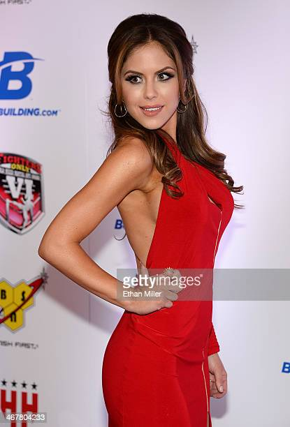 Octagon Girl and model Brittney Palmer arrives at the sixth annual Fighters Only World Mixed Martial Arts Awards at The Palazzo Las Vegas on February...