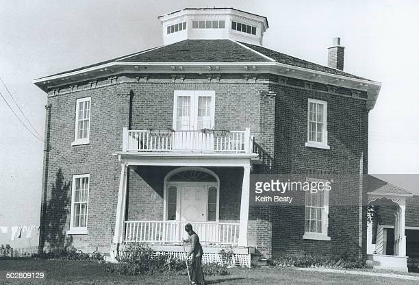 Octagonal house on Major Mackenzie Dr near King City is one of nearly 200 pre1855 buildings listed in Rural Roots history of what is now York Region...
