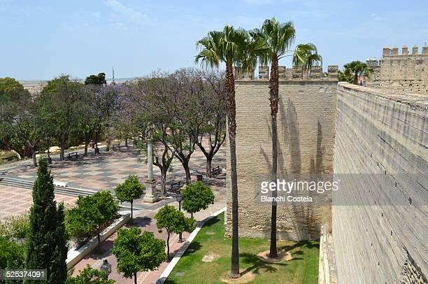 Octagonal tower of the Alcazar of Jerez