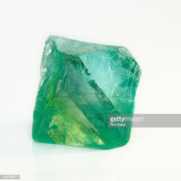 octahedral fluorite - fluorite stock pictures, royalty-free photos & images