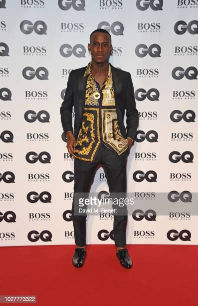 Octalien attends the GQ Men of the Year Awards 2018 in association with HUGO BOSS at Tate Modern on September 5 2018 in London England