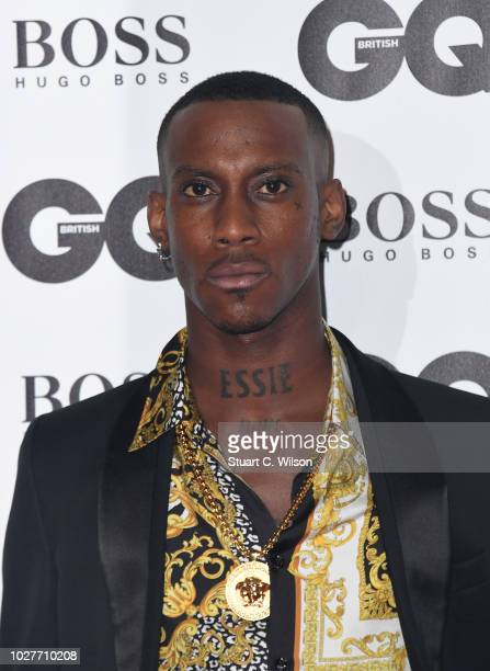 Octalien attends the GQ Men of the Year awards at the Tate Modern on September 5 2018 in London England