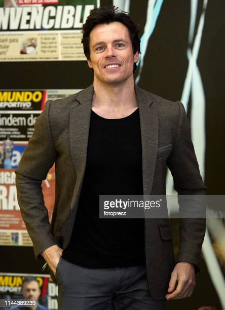 Octavi Pujades attends the Barcelona Open Banc Sabadell 2019 at Real Club de Tennis de Barcelona on April 22 2019 in Barcelona Spain