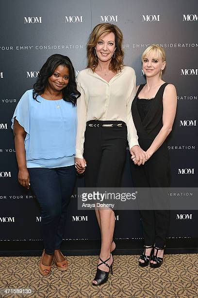Octavia Spencer Allison Janney and Anna Faris attend For Your Consideration Television Academy Screening and QA of The Hit Television Series 'Mom' at...