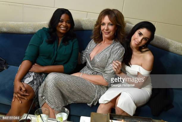 Octavia Spencer Allison Janney and Sarah Silverman attend The Hollywood Foreign Press Association and InStyle's annual celebrations of the 2017...