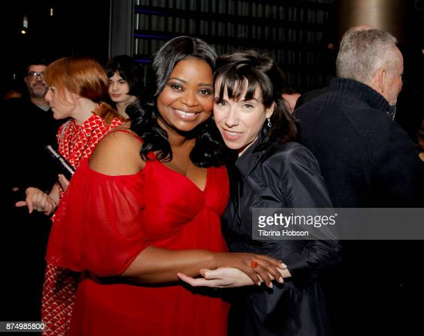 Octavia Spencer and Sally Hawkins attend the premiere of Fox Searchlight Pictures 'The Shape Of Water' after party at on November 15 2017 in Los...