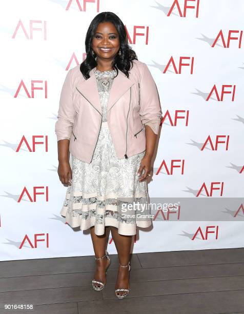 Octavia Spencer arrives at the 18th Annual AFI Awards on January 5 2018 in Los Angeles California