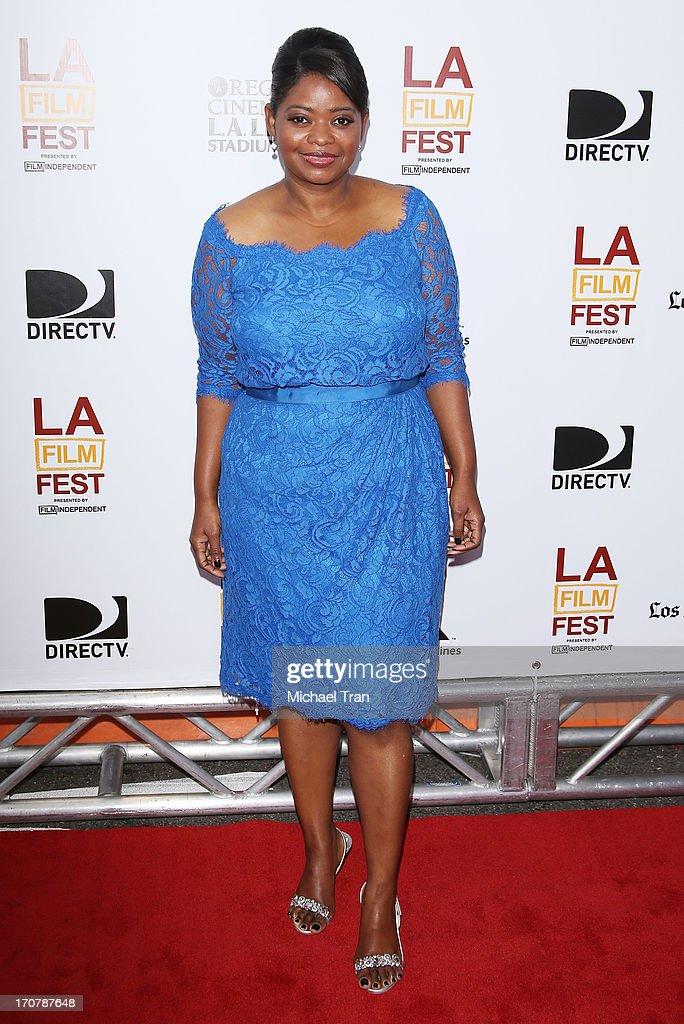 Octavia Spencer arrives at the 2013 Los Angeles Film Festival 'Fruitvale Station' premiere held at Regal Cinemas L.A. LIVE Stadium 14 on June 17, 2013 in Los Angeles, California.