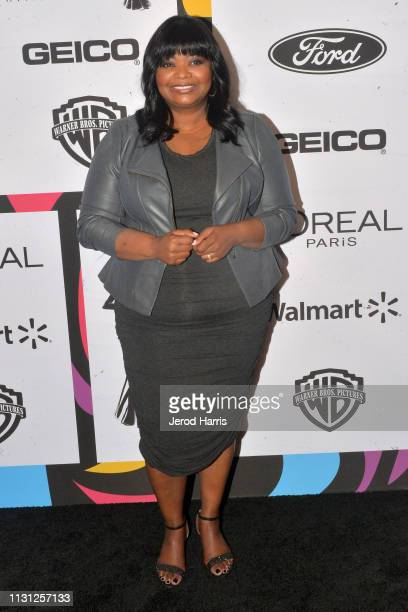 Octavia Spencer arrives at the 2019 Essence Black Women In Hollywood Awards at the Beverly Wilshire Four Seasons Hotel on February 21, 2019 in...