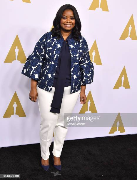 Octavia Spencer arrives at the 89th Annual Academy Awards Nominee Luncheon at The Beverly Hilton Hotel on February 6 2017 in Beverly Hills California