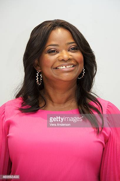 Octavia Spencer at the 'Insurgent' Press Conference at the Four Seasons Hotel on March 6 2015 in Beverly Hills California