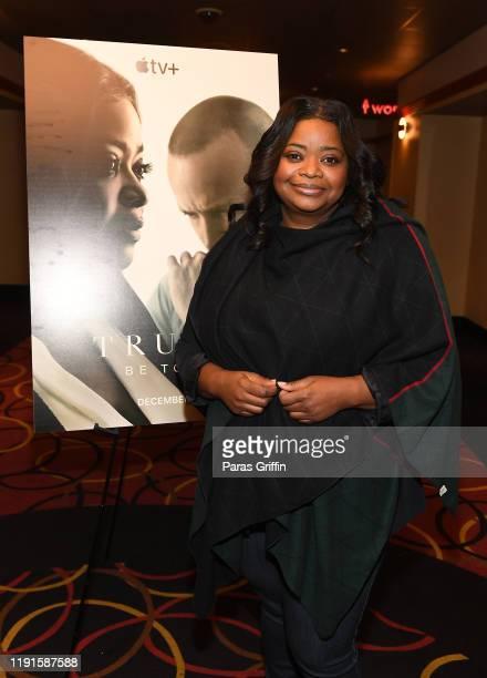 Octavia Spencer attends Apple TV's Truth Be Told Atlanta screening at AMC Parkway Pointe on December 02 2019 in Atlanta Georgia