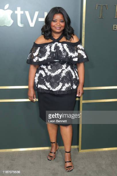 Octavia Spencer attends Premiere Of Apple TV's Truth Be Told at AMPAS Samuel Goldwyn Theater on November 11 2019 in Beverly Hills California