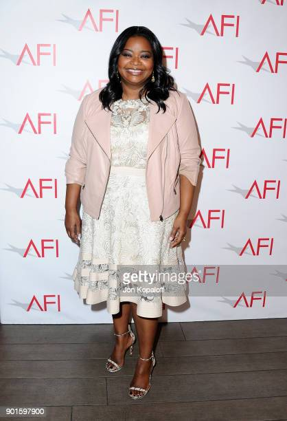 Octavia Spencer attends the 18th Annual AFI Awards at Four Seasons Hotel Los Angeles at Beverly Hills on January 5 2018 in Los Angeles California