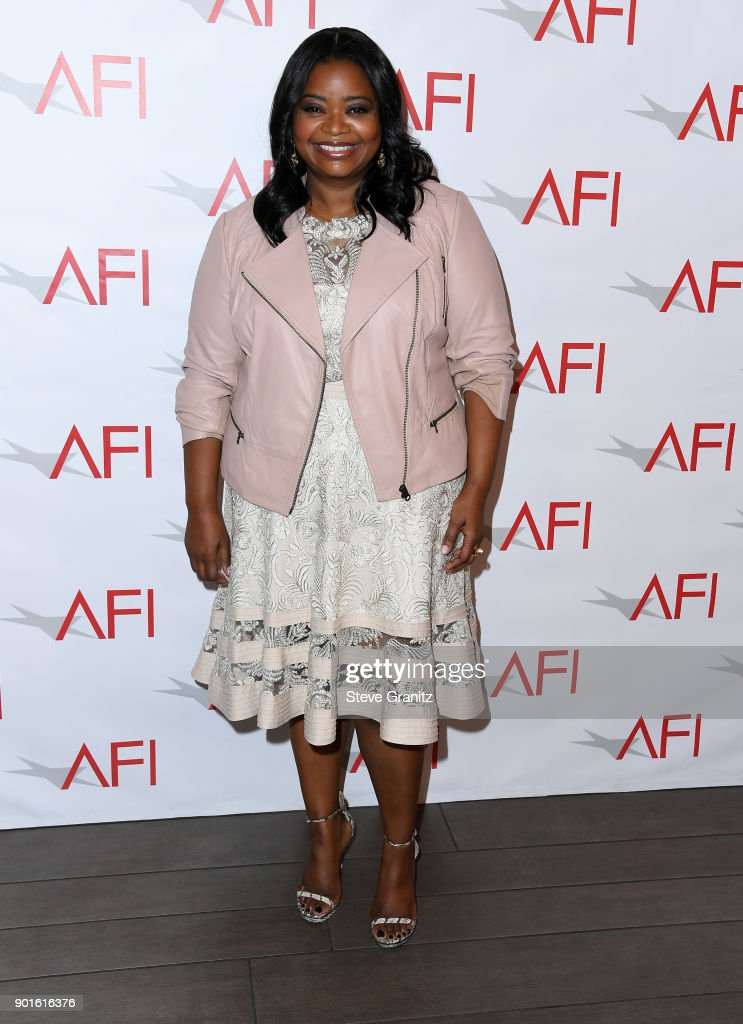 Octavia Spencer attends the 18th Annual AFI Awards at Four Seasons Hotel Los Angeles at Beverly Hills on January 5, 2018 in Los Angeles, California.