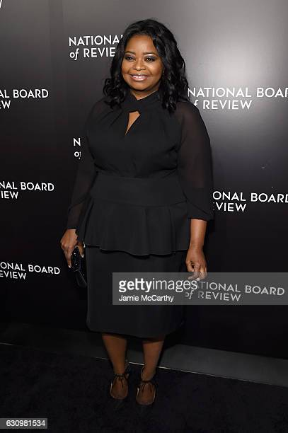 Octavia Spencer attends the 2016 National Board of Review Gala at Cipriani 42nd Street on January 4 2017 in New York City