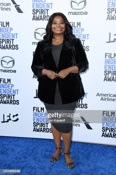 Octavia Spencer attends the 2020 Film Independent Spirit Awards on February 08, 2020 in Santa Monica, California.