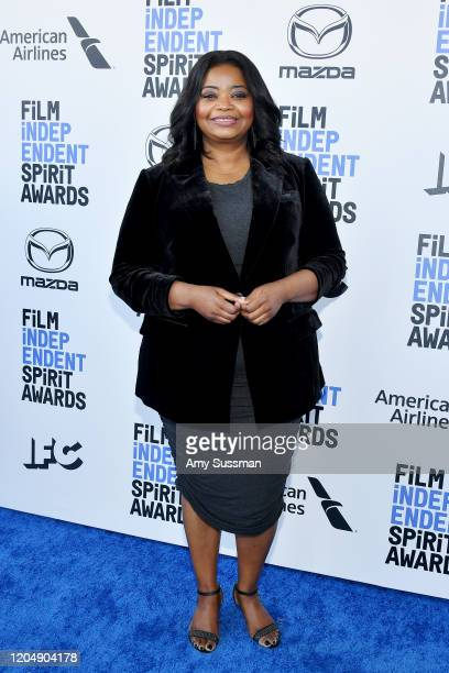 Octavia Spencer attends the 2020 Film Independent Spirit Awards on February 08 2020 in Santa Monica California