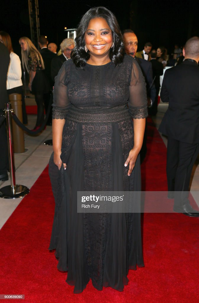 Octavia Spencer attends the 29th Annual Palm Springs International Film Festival Awards Gala at Palm Springs Convention Center on January 2, 2018 in Palm Springs, California.