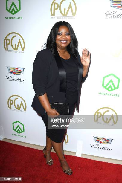 Octavia Spencer attends the 30th annual Producers Guild Awards at The Beverly Hilton Hotel on January 19 2019 in Beverly Hills California