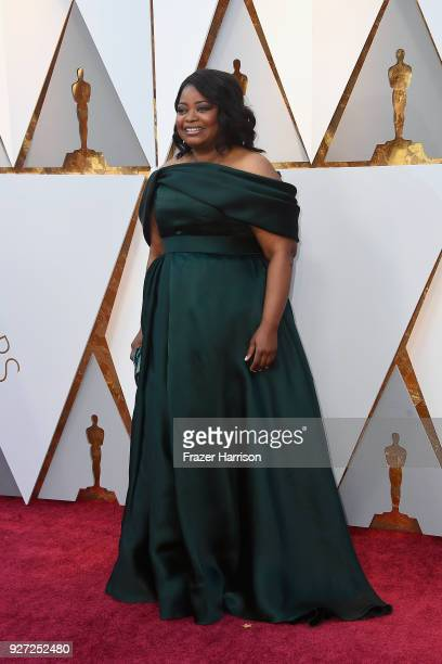 Octavia Spencer attends the 90th Annual Academy Awards at Hollywood Highland Center on March 4 2018 in Hollywood California