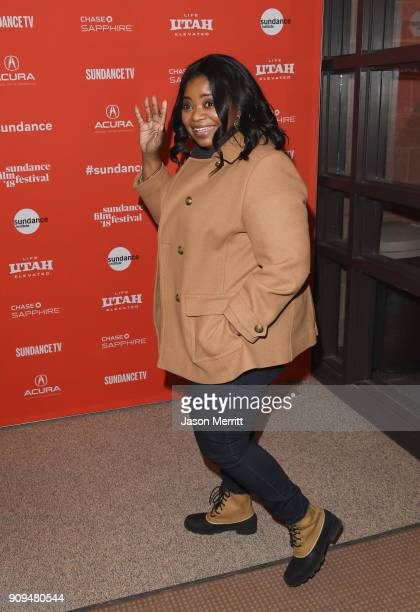 Octavia Spencer attends the A Kid Like Jake' Premiere during the 2018 Sundance Film Festival at Eccles Center Theatre on January 23 2018 in Park City...
