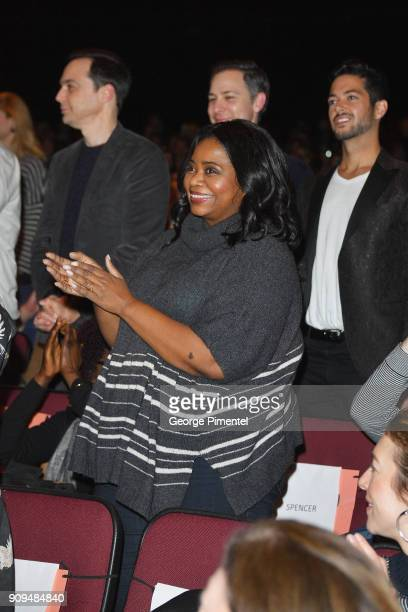 Octavia Spencer attends the 'A Kid Like Jake' Premiere during the 2018 Sundance Film Festival at Eccles Center Theatre on January 23 2018 in Park...