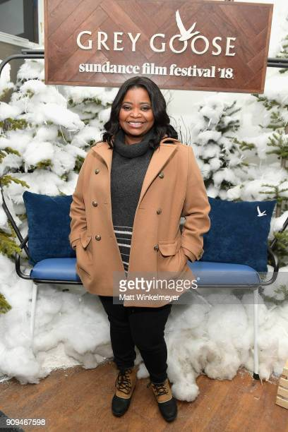 Octavia Spencer attends the 'A Kid Like Jake' preparty at Sundance Film Festival 2018 at The Grey Goose Blue Door on January 23 2018 in Park City Utah