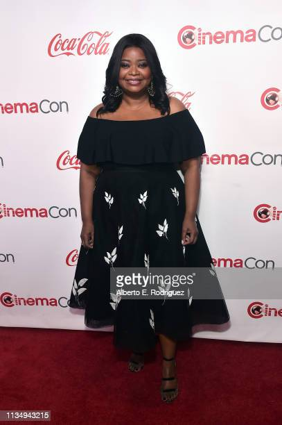 Octavia Spencer attends The CinemaCon Big Screen Achievement Awards Brought to you by The Coca-Cola Company at OMNIA Nightclub at Caesars Palace...