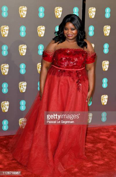 Octavia Spencer attends the EE British Academy Film Awards at Royal Albert Hall on February 10 2019 in London England
