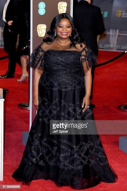 Octavia Spencer attends the EE British Academy Film Awards held at Royal Albert Hall on February 18 2018 in London England