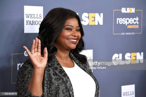 Octavia Spencer attends the GLSEN Respect Awards Los Angeles at the Beverly Wilshire Four Seasons Hotel on October 25, 2019 in Beverly Hills,...